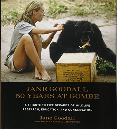 9781584798781: Jane Goodall: 50 Years at Gombe: 50 Years at Gombe