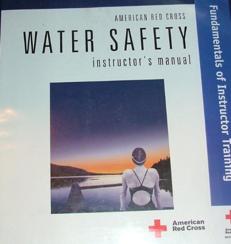 Water Safety, Instructor's Manual: red cross