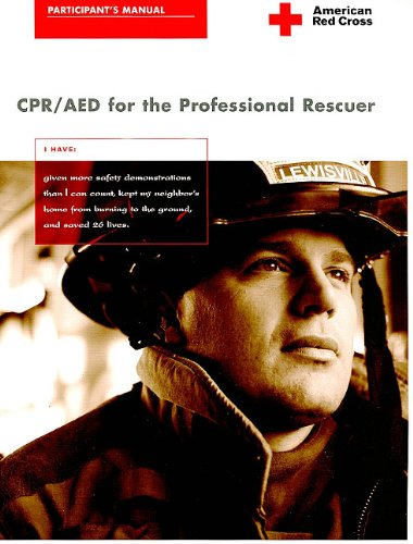 9781584803041: CPR/AED for the Professional Rescuer: Participant's Manual