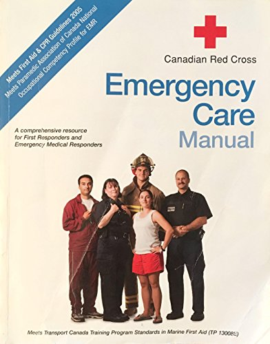 9781584804048: Canadian Red Cross Emergency Care Manual