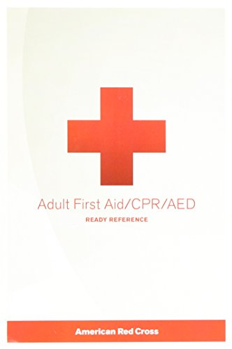 9781584804802: Adult First Aid/ CPR/ AED Ready Reference Card