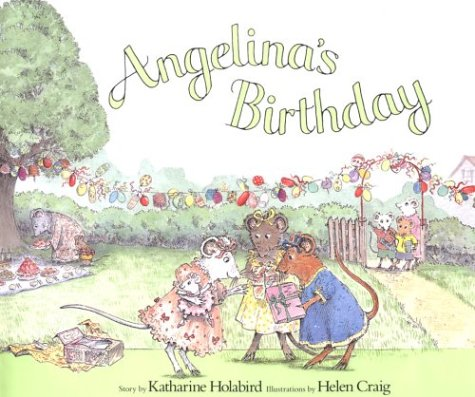 9781584851370: Angelina's Birthday