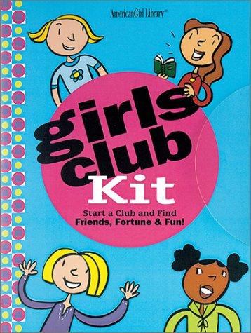 9781584855866: Girls Club Handbook: Find Friends Fortune and Fun