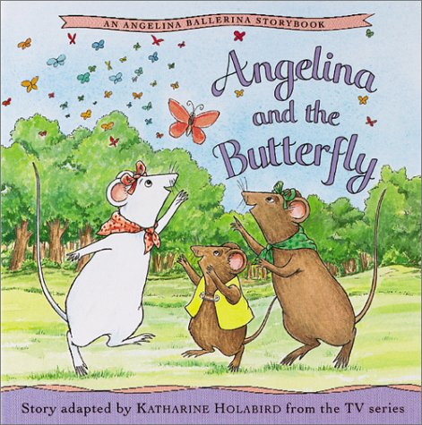 9781584856184: Angelina and the Butterfly (Angelina Ballerina (8x8))