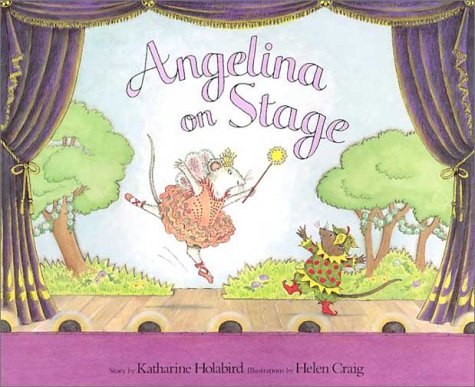 9781584856566: Angelina on Stage