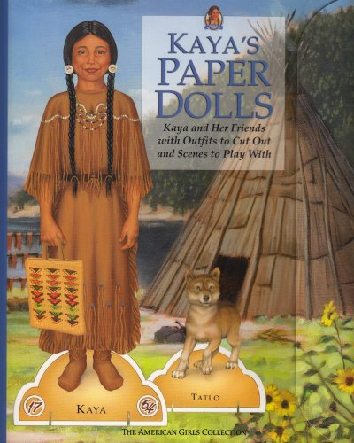 Kayas Paper Dolls: Kaya and Her Friends