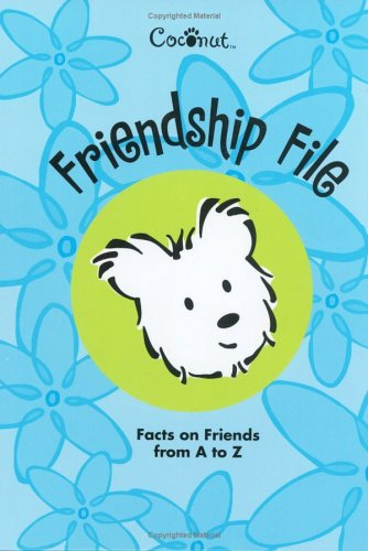 9781584857976: Coconut Friendship File: Facts on Friends from A to Z Address Book (Coconut)
