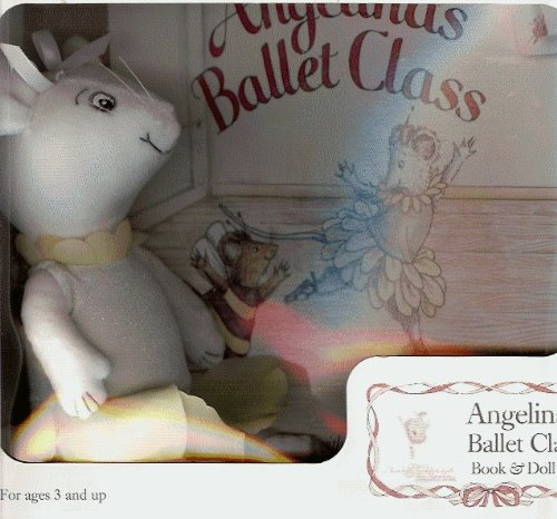 9781584858690: Angelina's Ballet Class Book & Doll Set