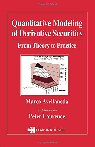 9781584880318: Quantitative Modeling of Derivative Securities: From Theory To Practice