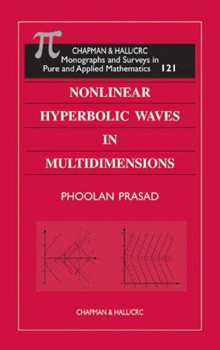9781584880721: Nonlinear Hyperbolic Waves in Multidimensions