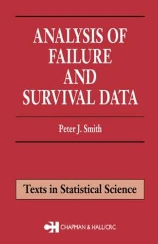 9781584880752: Analysis of Failure and Survival Data