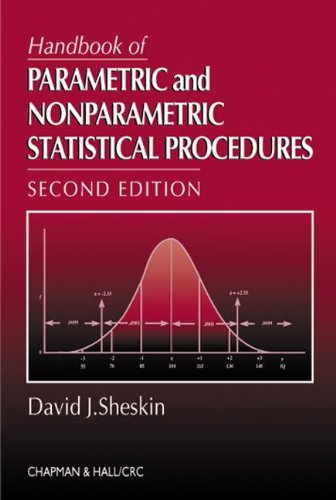 9781584881339: Handbook of Parametric and Nonparametric Statistical Procedures, Second Edition