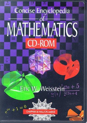 9781584881377: CRC Concise Encyclopedia of Mathematics