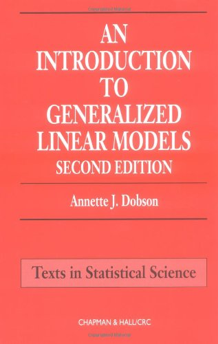 9781584881650: An Introduction to Generalized Linear Models, Second Edition