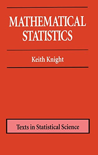 9781584881780: Mathematical Statistics (Chapman & Hall/CRC Texts in Statistical Science)