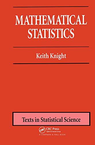 Mathematical Statistics: Knight, Keith