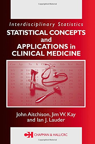 9781584882084: Statistical Concepts and Applications in Clinical Medicine (Interdisciplinary Statistics)