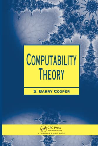 9781584882374: Computability Theory (Chapman Hall/CRC Mathematics Series)