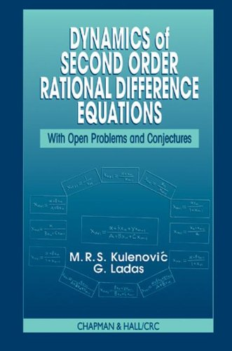 Dynamics of Second Order Rational Difference Equations: With Open Problems and Conjectures: ...