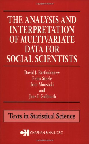 9781584882954: The Analysis and Interpretation of Multivariate Data for Social Scientists (Chapman & Hall/CRC Statistics in the Social and Behavioral Sciences)