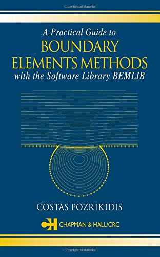 9781584883234: A Practical Guide to Boundary Element Methods with the Software Library BEMLIB