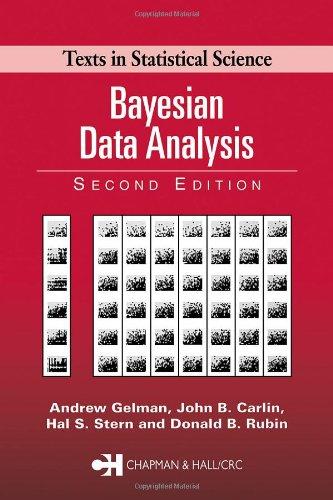 Bayesian data by gelman abebooks bayesian data analysis 2nd edition andrew gelman fandeluxe Gallery
