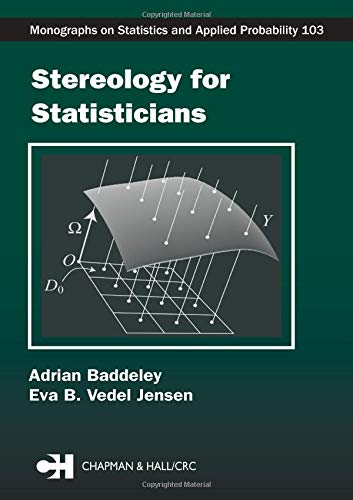 9781584884057: Stereology for Statisticians (Chapman & Hall/CRC Monographs on Statistics & Applied Probability)