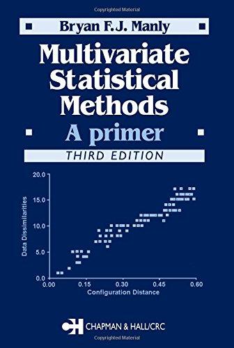9781584884149: Multivariate Statistical Methods: A Primer, Third Edition