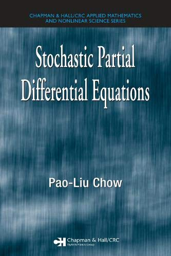 9781584884439: Stochastic Partial Differential Equations (Advances in Applied Mathematics)