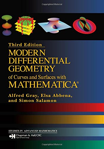 9781584884484: Modern Differential Geometry of Curves and Surfaces with Mathematica, Third Edition (Textbooks in Mathematics)