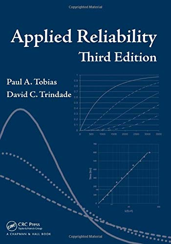 9781584884668: Applied Reliability, Third Edition