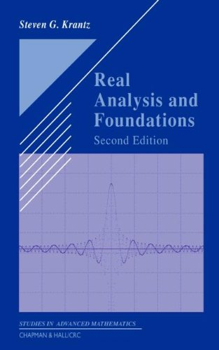 9781584884835: Real Analysis and Foundations, Second Edition (Textbooks in Mathematics)