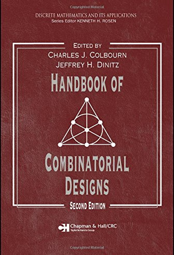 9781584885061: Handbook of Combinatorial Designs, Second Edition (Discrete Mathematics and Its Applications)
