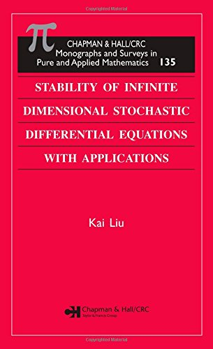9781584885986: Stability of Infinite Dimensional Stochastic Differential Equations with Applications (Monographs and Surveys in Pure and Applied Mathematics)