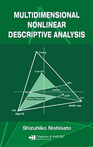 9781584886129: Multidimensional Nonlinear Descriptive Analysis