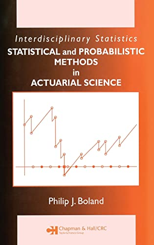 Statistical and Probabilistic Methods in Actuarial Science (Chapman & Hall/CRC ...