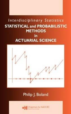 9781584888420: Solutions Manual for Statistical Methods in Insurance and Actuarial Science (Interdisciplinary Statistics)
