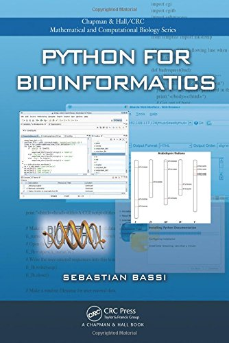 9781584889298: Python for Bioinformatics (Chapman & Hall/CRC Mathematical and Computational Biology)