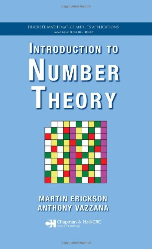 Introduction to Number Theory (Hardback): Martin J. Erickson,