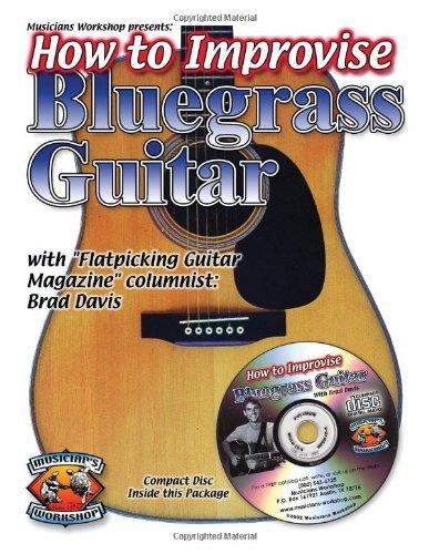 9781584960201: Improvising Bluegrass Guitar (Book + CD)