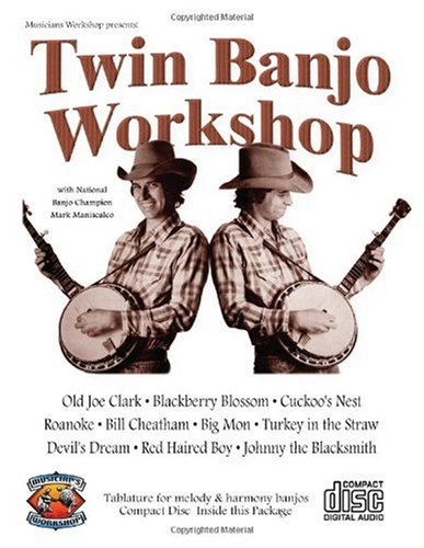 Twin Banjo Workshop (book + CD): Dan Huckabee