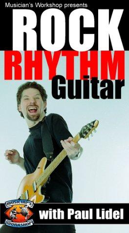 9781584961352: Rock Rhythm Guitar with Paul Lidel [VHS]