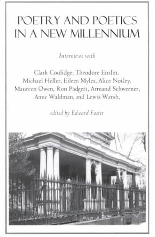 9781584980148: Poetry And Poetics In A New Millennium: Interviews