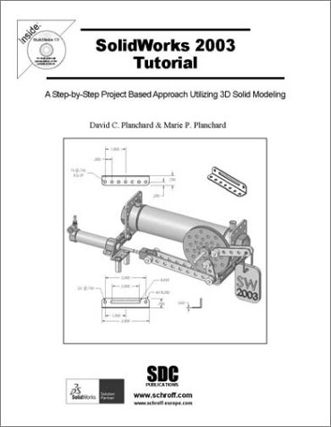 9781585031313: SolidWorks 2003 Tutorial and MultiMedia CD