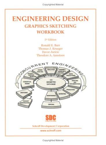 9781585031672: Engineering Design Graphics Sketching Workbook (5th Edition)