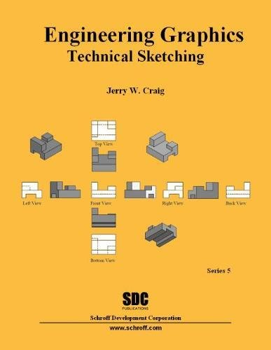 9781585034017: Engineering Graphics Technical Sketching (Series 5)
