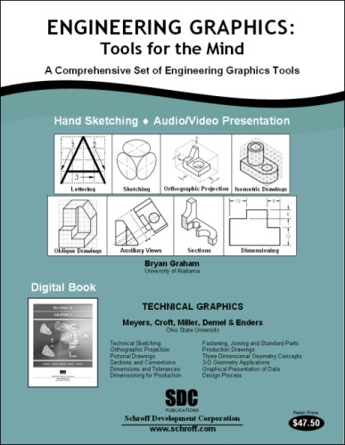 9781585034123: Engineering Graphics: Tools for the Mind & DVD