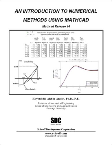 9781585034208: An Introduction to Numerical Methods using MathCAD: Mathcad Release 14