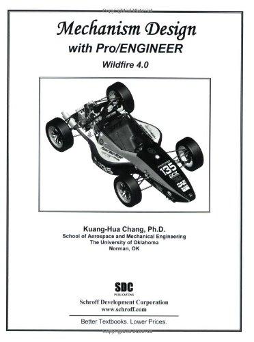 9781585035281: Mechanism Design With Pro/Engineer Wildfire 4.0