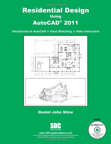 9781585035601: Residential Design Using AutoCAD 2011